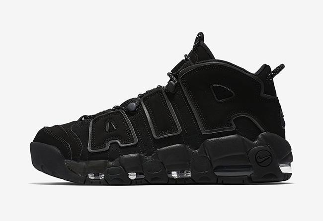 Nike Air More Uptempo Black Reflective 414962-004