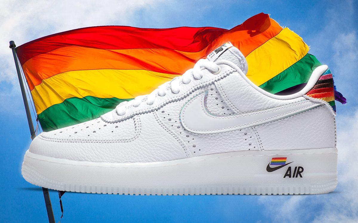 "The Nike Air Force 1 ""BeTrue"" Pride"