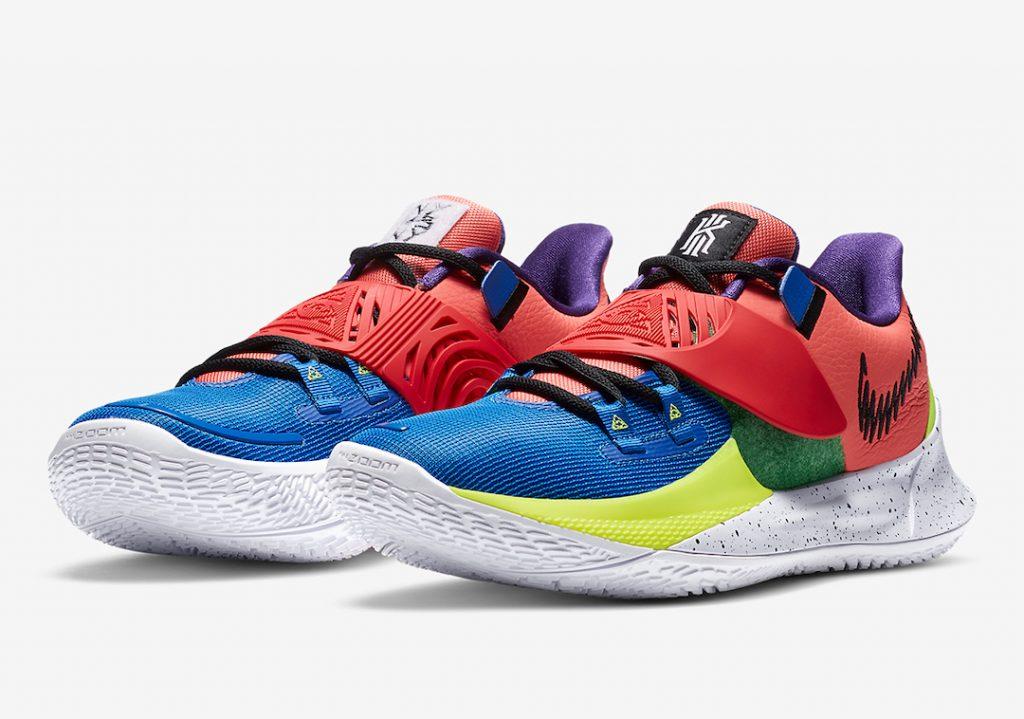 Nike Kyrie Low 3 NY vs NY CJ1286-800 Release Date