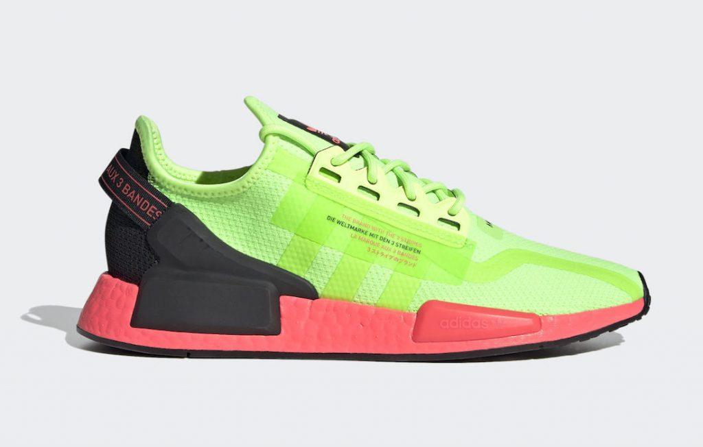 "adidas NMD R1 V2 ""Signal Green"" Release"