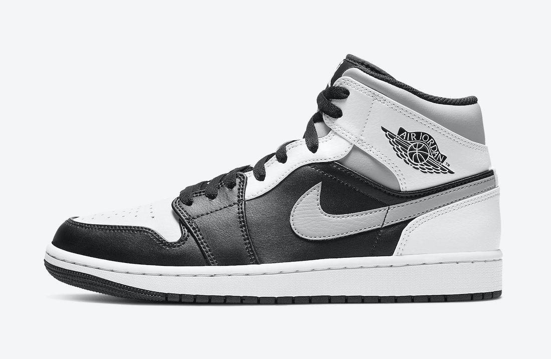 "Air Jordan 1 Mid ""White Shadow"" Release"
