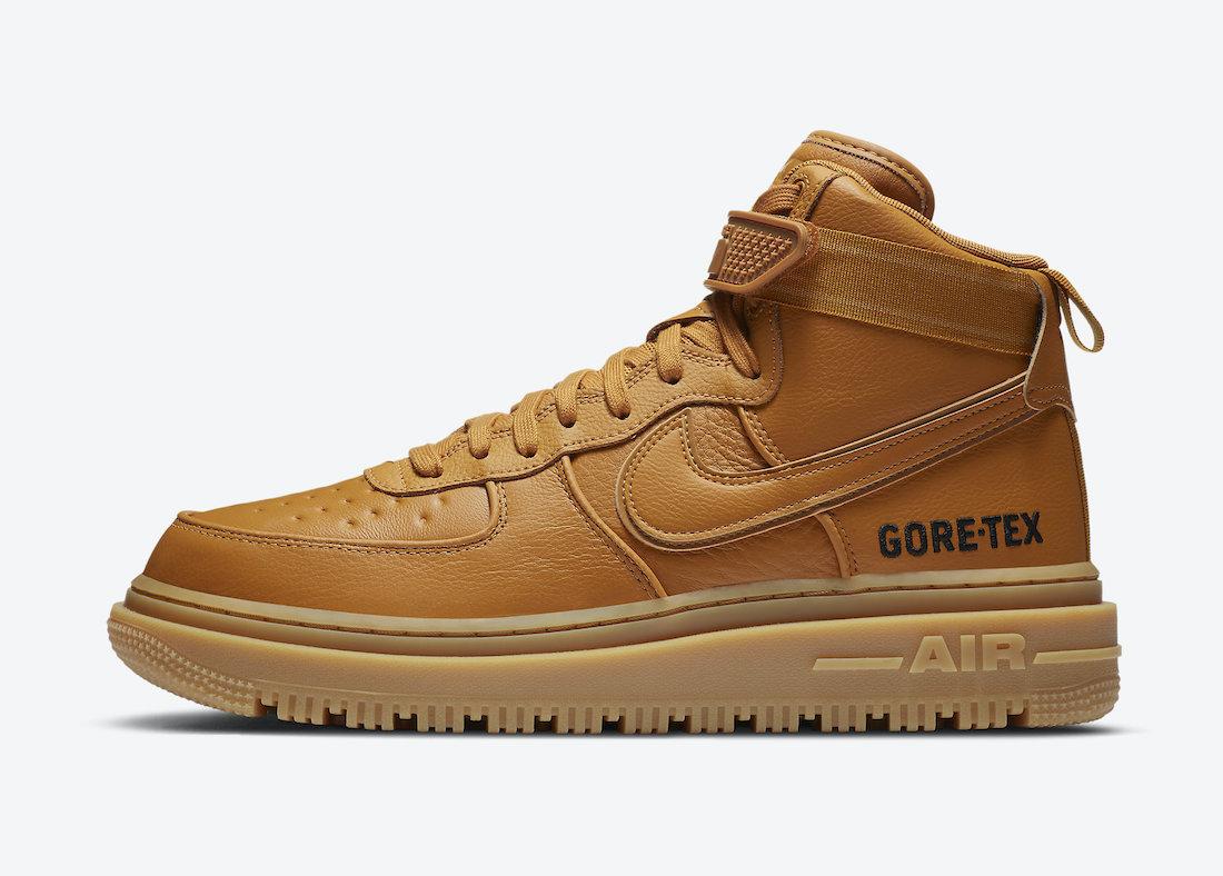 """Nike Air Force 1 Gore-Tex Boot """"Wheat"""