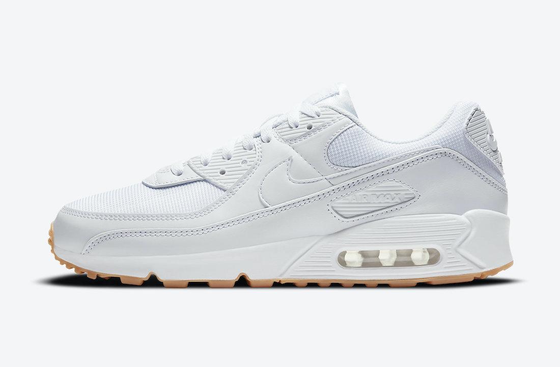 """Nike Air Max 90 """"White Gum"""" DC1699-100 - SNKRS WORLD"""