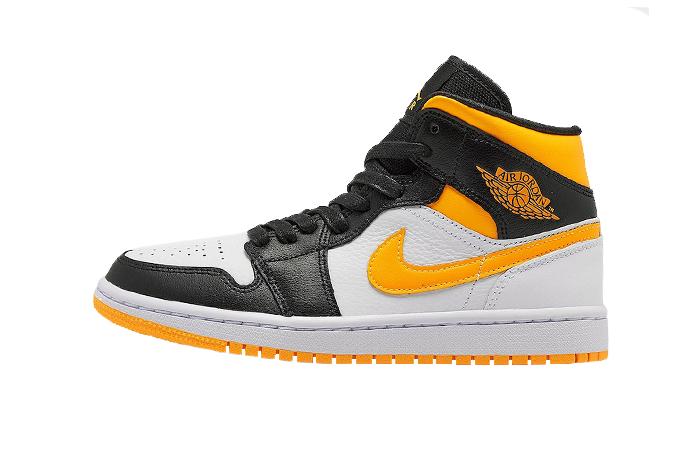 "Air Jordan 1 Mid SE ""Laser Orange/Black"" - SNKRS WORLD"