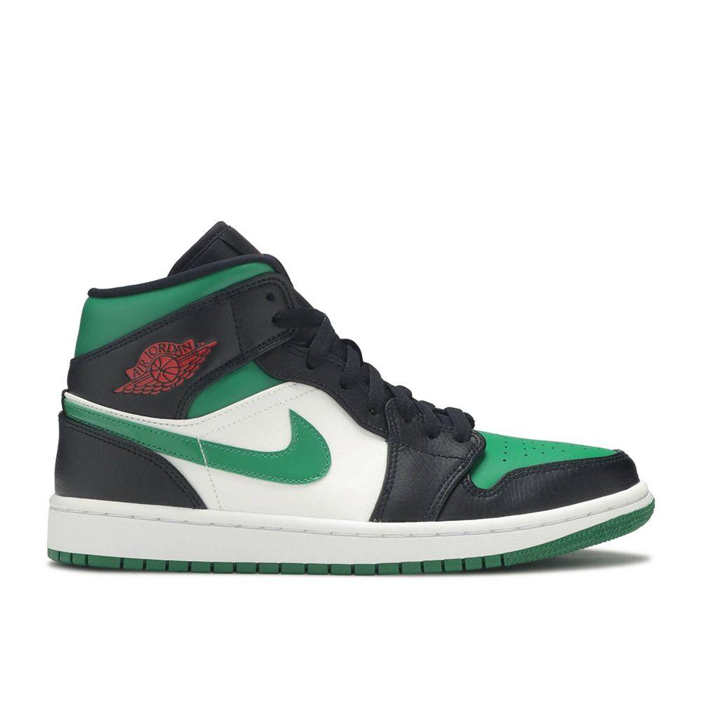 "Air Jordan 1 Mid ""Green Toe"" - SNKRS WORLD"