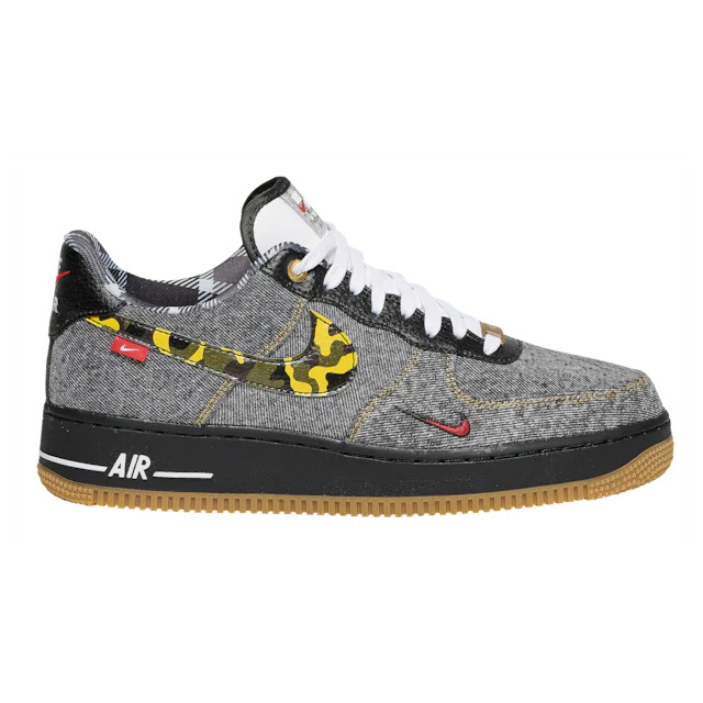 Muchas situaciones peligrosas estante Aburrir  Nike Air Force 1 Low 'Camo Denim Remix' - SNKRS WORLD