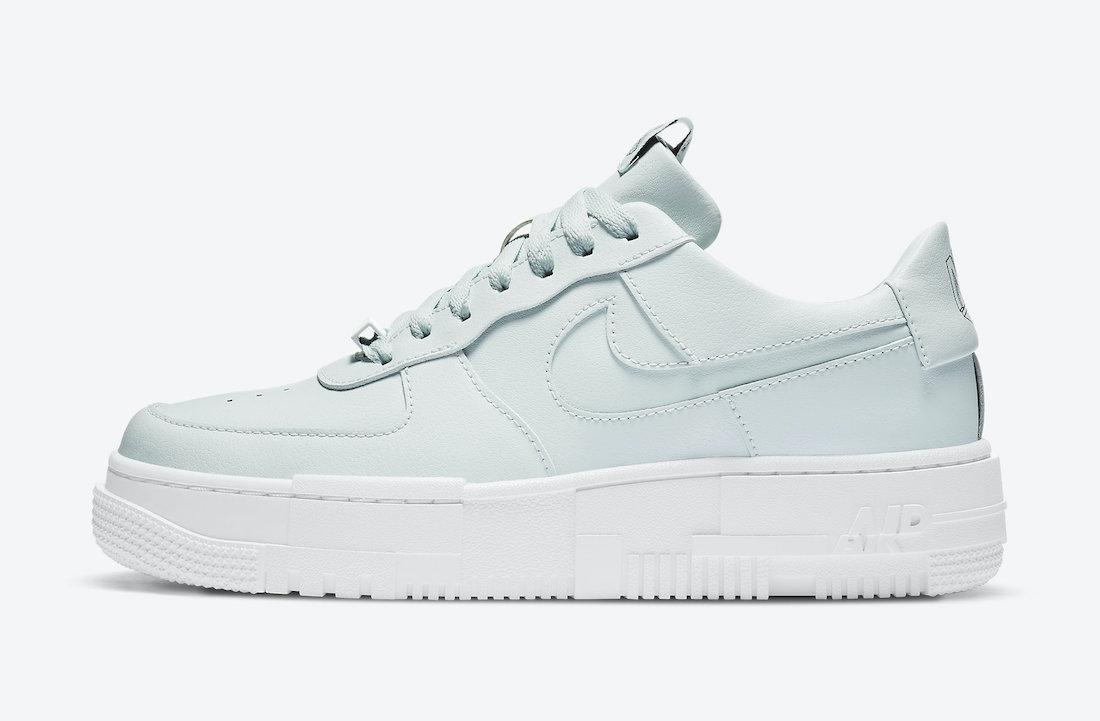 Nike Air Force 1 Pixel Ghost Aqua CK6649-400 Release Date