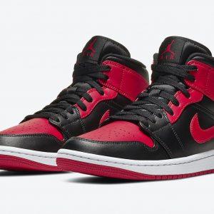 Air Jordan 1 Mid Banned 2020 554724-074