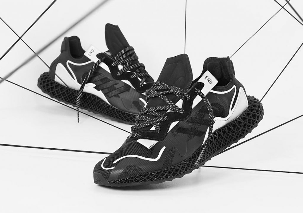 END Adidas EVO 4D Dark Matter FX0549 Release Date