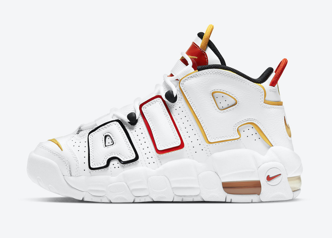 Nike Air More Uptempo Raygun DD9282-100 Release Date
