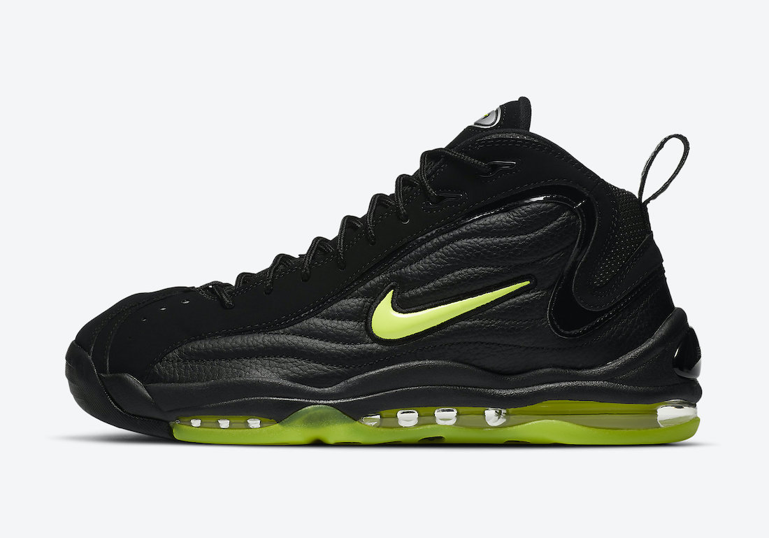 Nike Air Total Max Uptempo OG Black Volt DA2339-001 Release Date