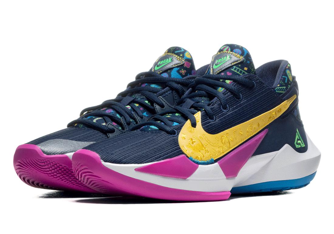 Nike Zoom Freak 2 Midnight Navy DB4689-400 Release Date