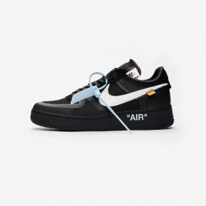 Off White Nike Air Force 1 Low Black AO4606-001