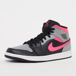 Air Jordan 1 Mid Pink Shadow 554724-059
