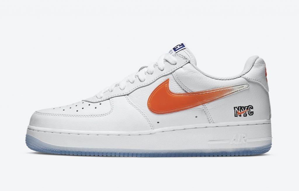 "entusiasmo cerrar Empleado  Kith x Nike Air Force 1 Low ""NYC White"" CZ7928-100 - SNKRS WORLD"
