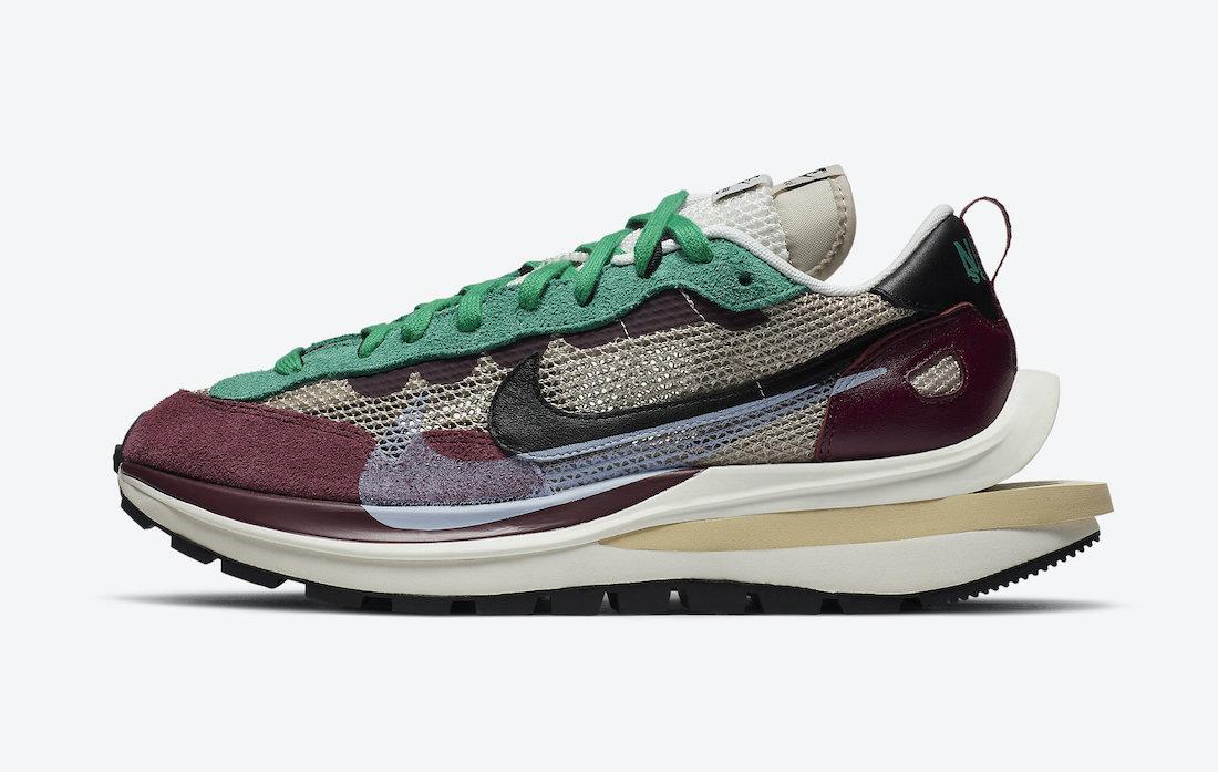 Sacai Nike VaporWaffle Villain Red DD3035-200 Release Date