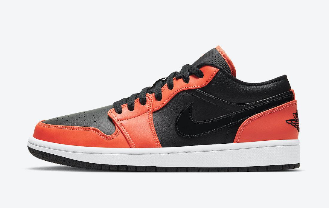 Air Jordan 1 Low SE Black Orange CK3022-008 Release Date