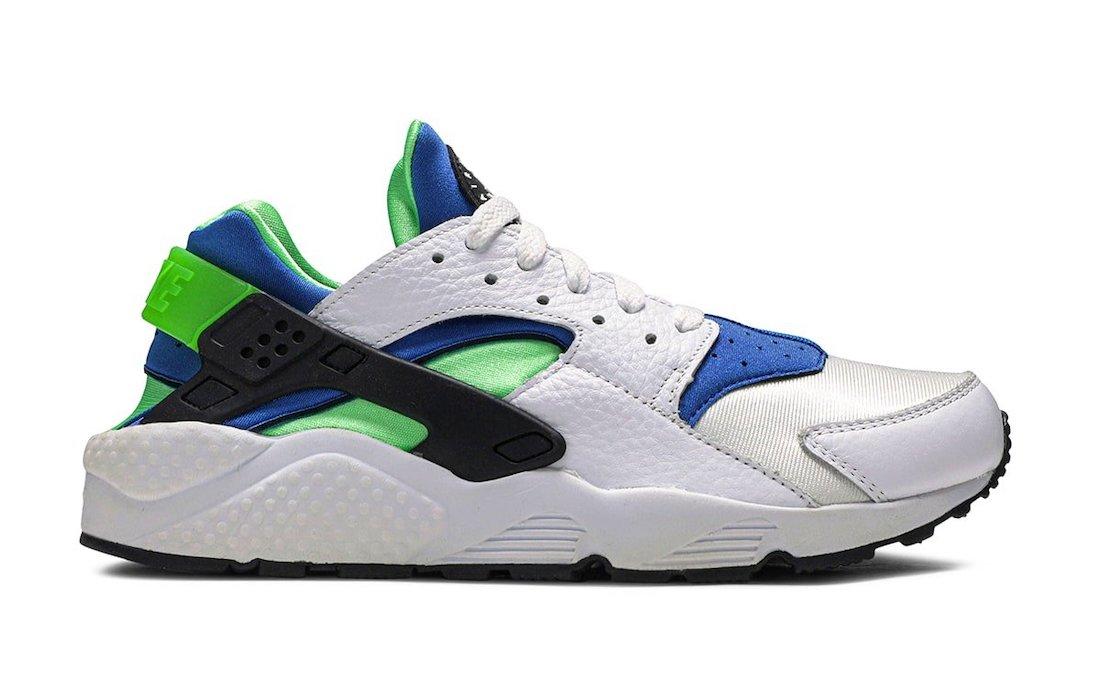 Nike Air Huarache OG Scream Green DD1068-100 Release Date