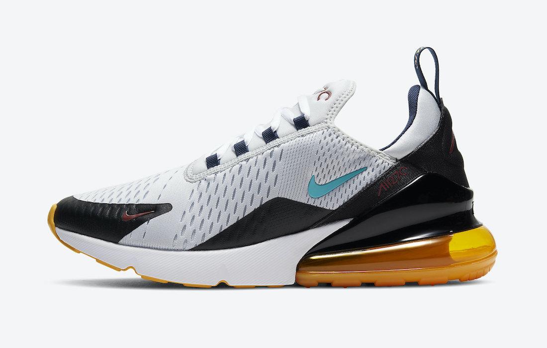 Nike Air Max 270 Oracle Aqua DJ2736-001 Release Date