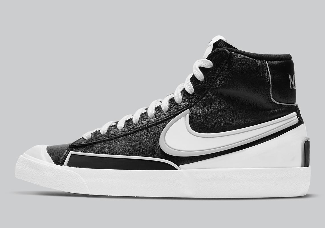 Nike Blazer Mid Infinite Black White DA7233-001 Release Date