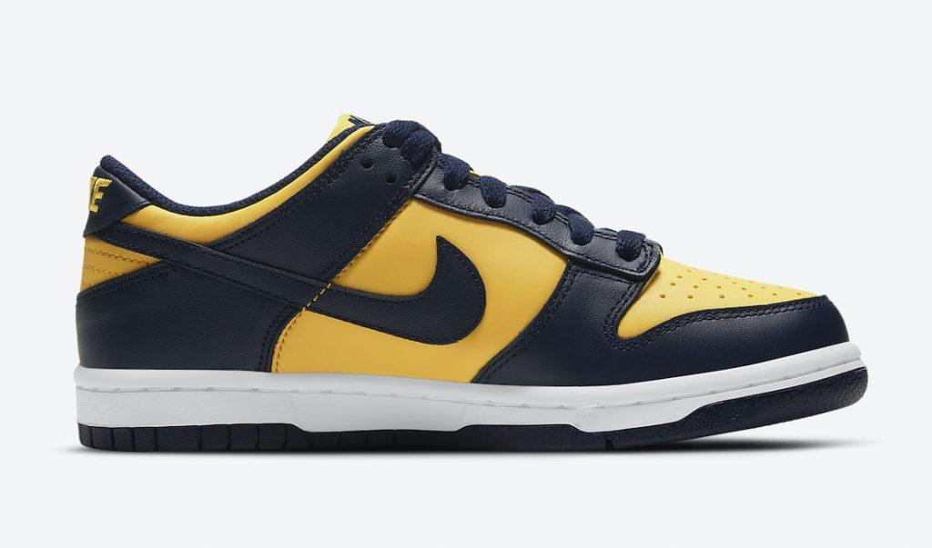 Nike Dunk Low Michigan DD1391-700 Release Date