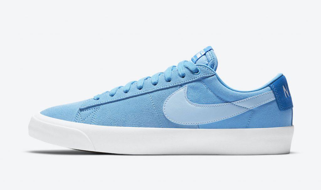 Nike SB Blazer Low GT Blue DC7695-400 Release Date