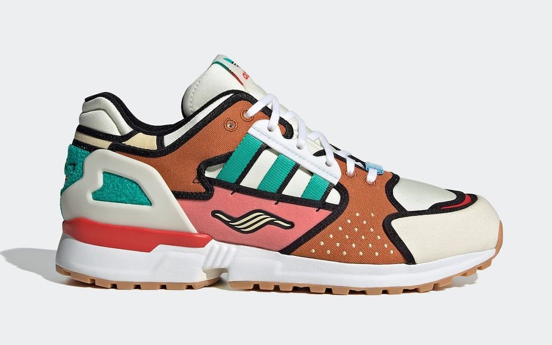 The Simpsons adidas ZX 10000 Krusty Burger H05783 Release Date