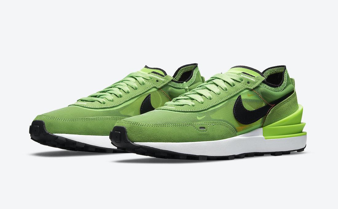 Nike Waffle One Electric Green DA7995-300 Release Date