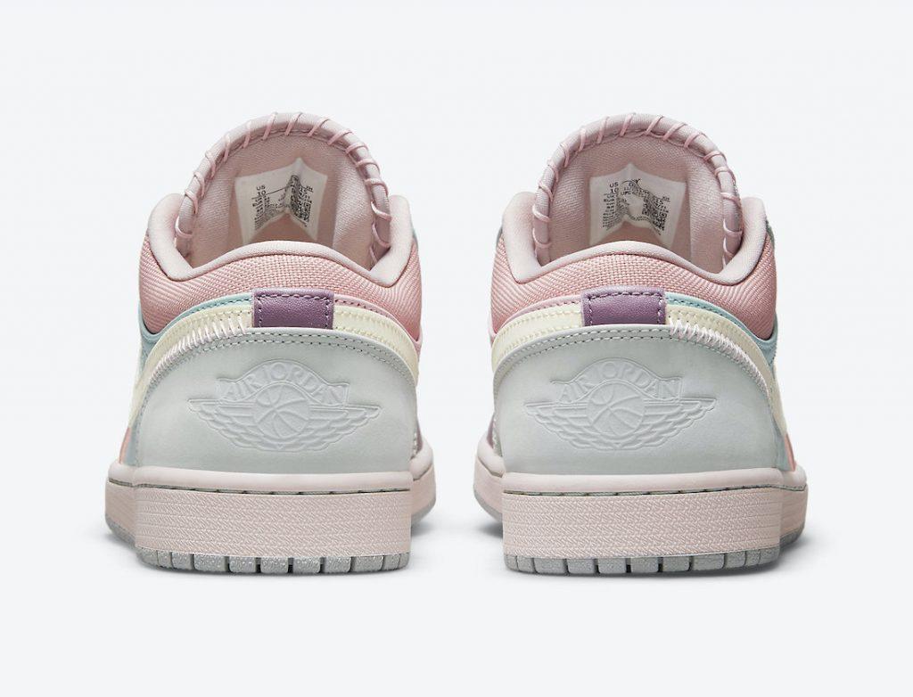 Air Jordan 1 Low Multi Pastel DJ5196-615 Release Date