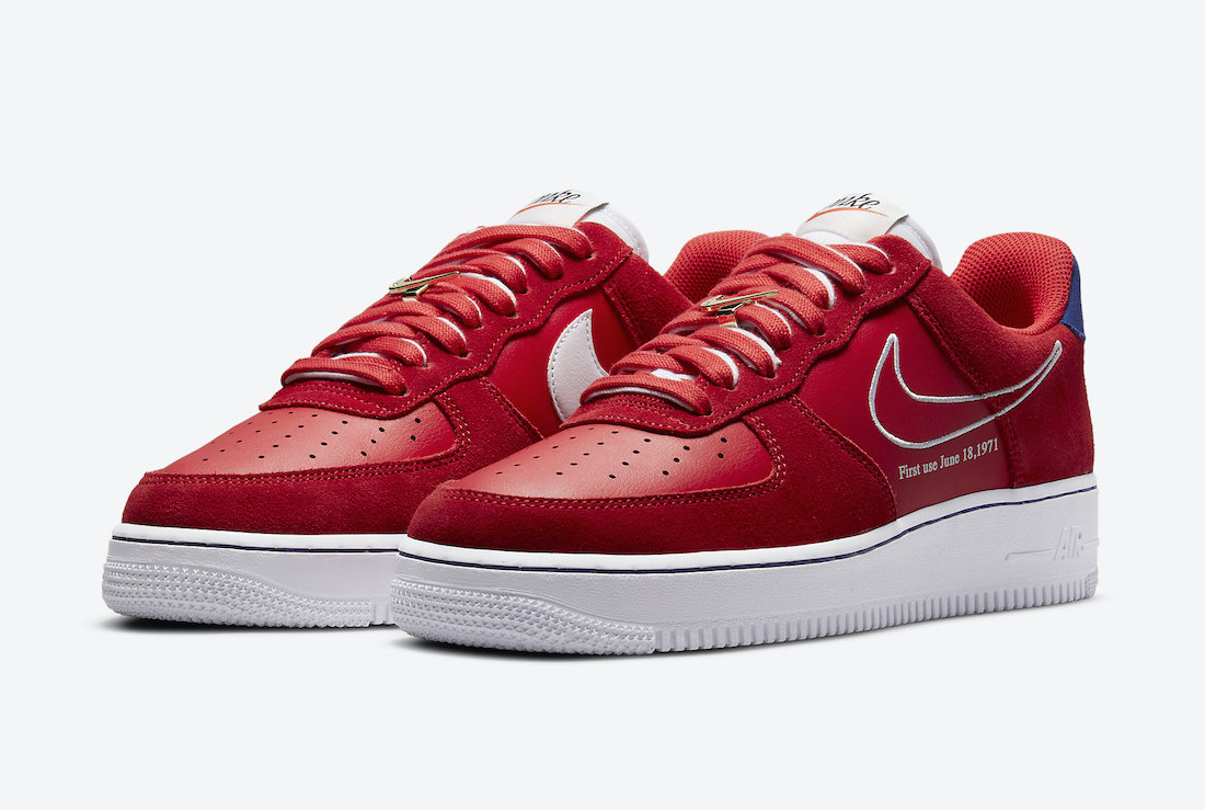 Nike Air Force 1 Low First Use DB3597-600 Release Date