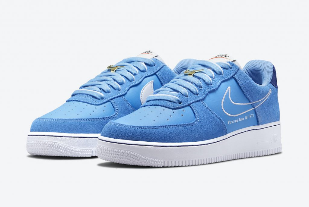 Nike Air Force 1 Low First Use University Blue DB3597-400 Release Date