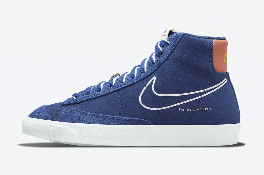 Nike Blazer Mid 77 First Use Deep Royal Blue DC3433-400 Release Date