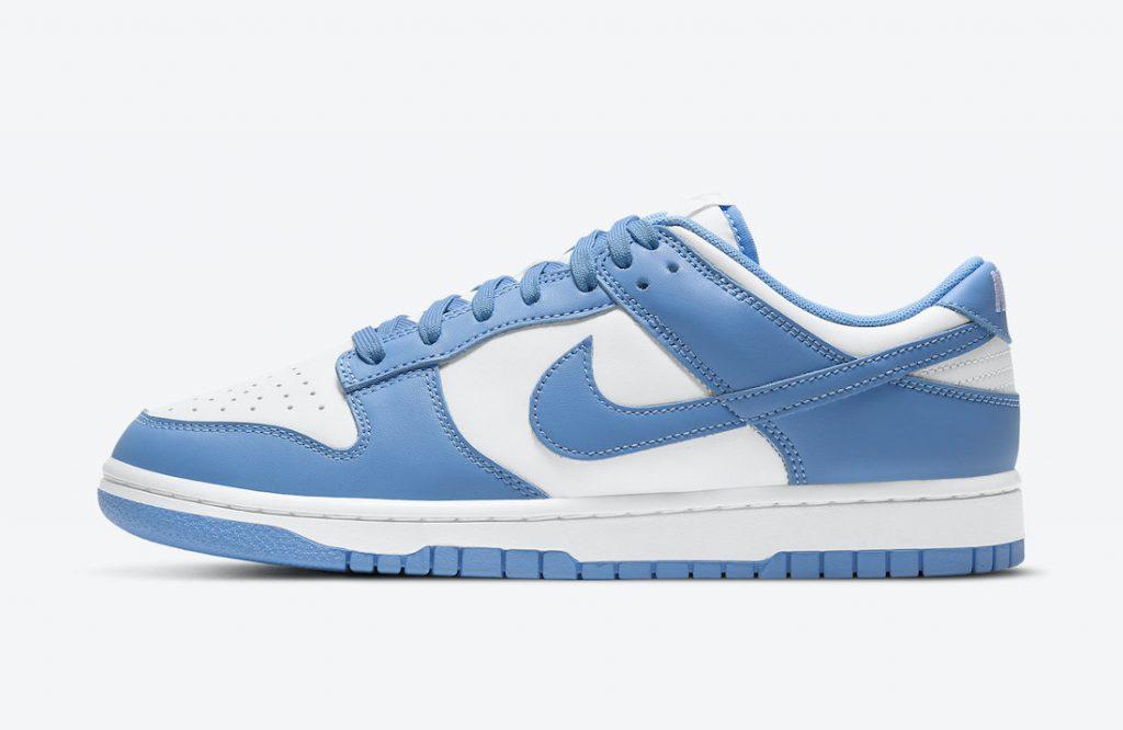 Nike Dunk Low University Blue DD1391-102 Release Date
