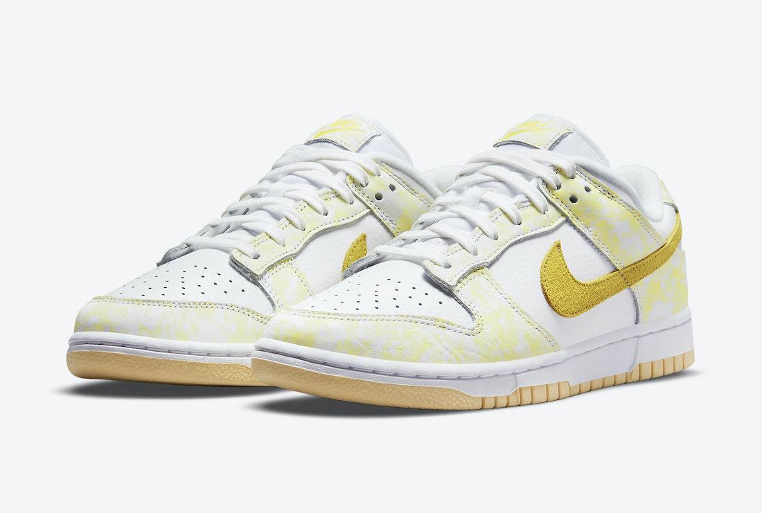 Nike Dunk Low Yellow Strike DM9467-700 Release Date