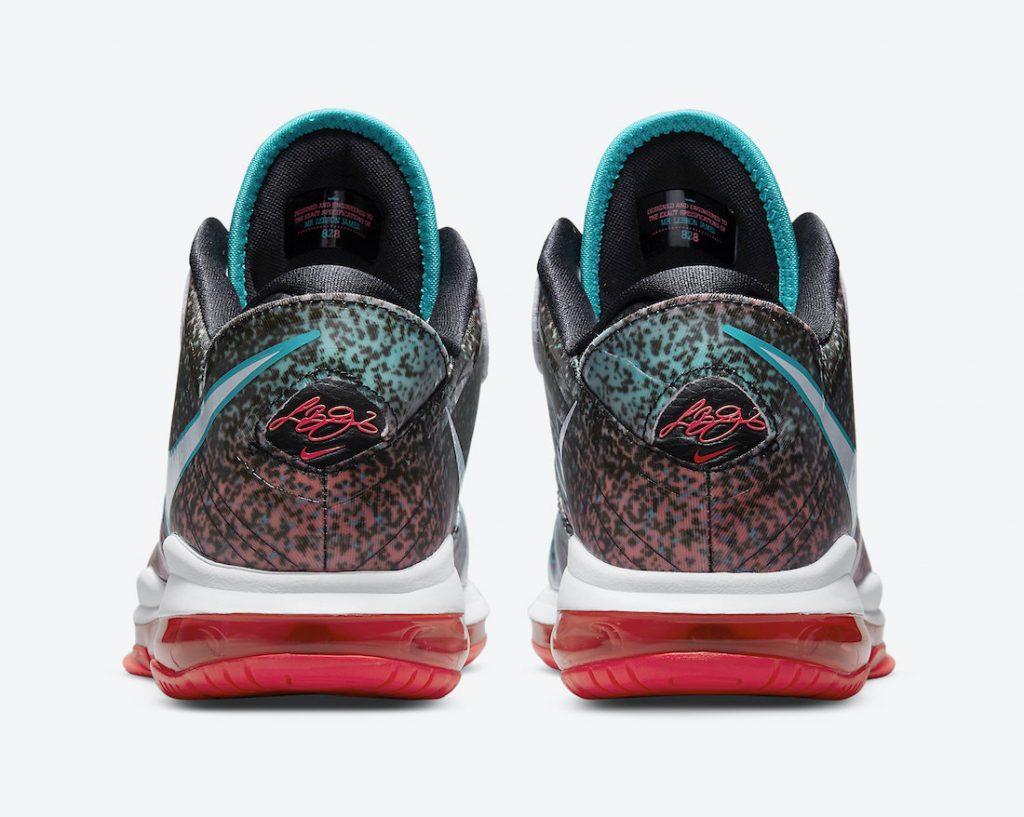 Nike LeBron 8 V2 Low Miami Nights DJ4436-100 Release Date