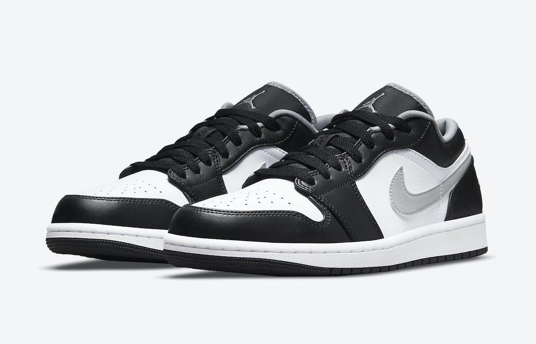Air Jordan 1 Low Black Medium Grey 553558-040 Release Date Info