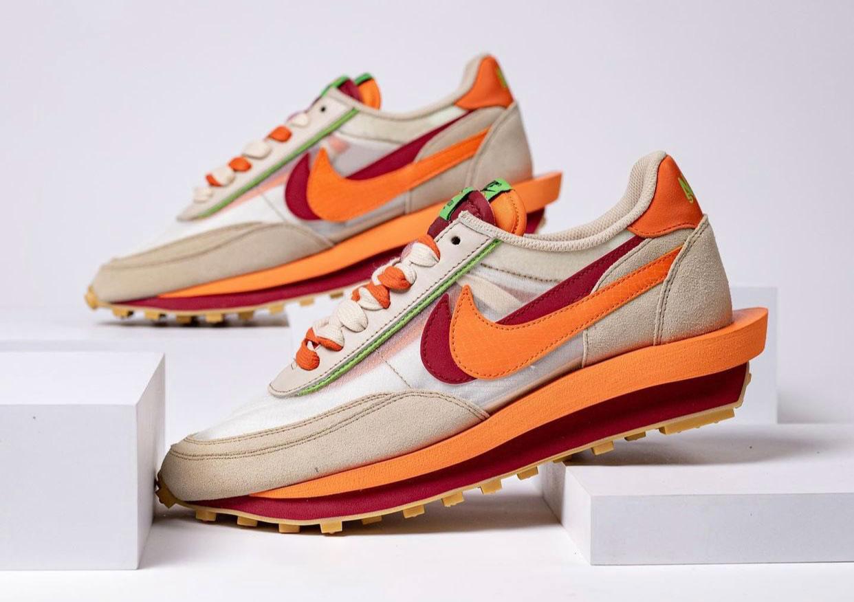 Clot Sacai Nike LDWaffle DH1347-100 Release Date Info