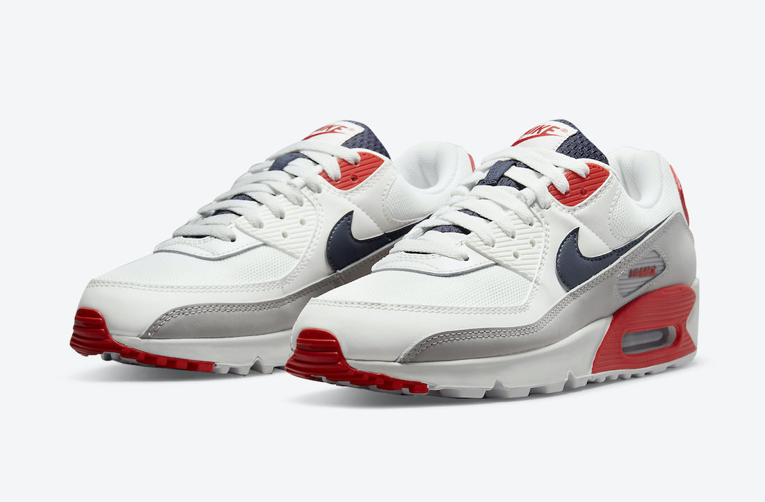 Nike Air Max 90 USA DB0625-101 Release Date