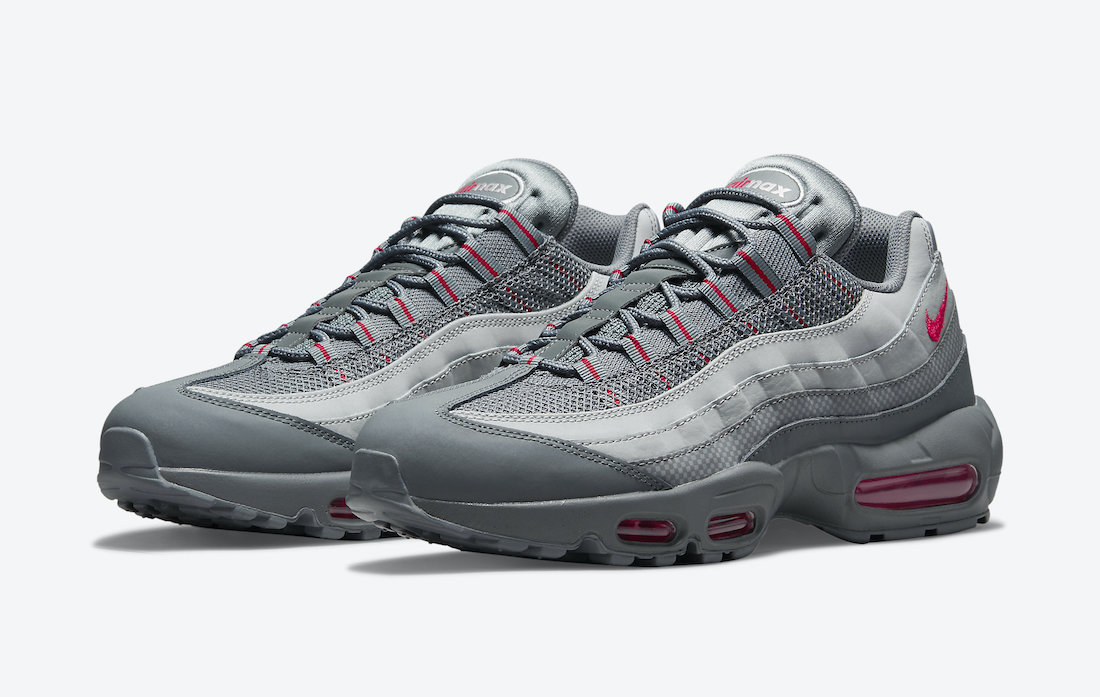 Nike Air Max 95 Grey Red DM9104-002 Release Date Info