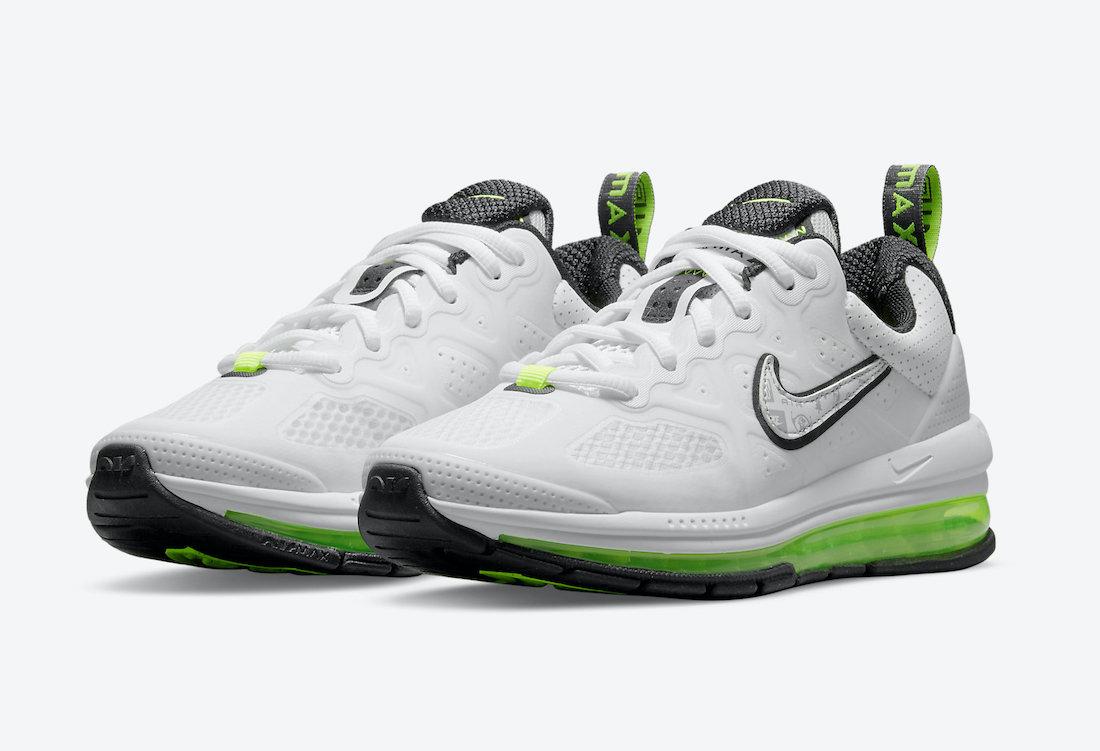 Nike Air Max Genome White Black Green CZ4652-103 Release Date Info