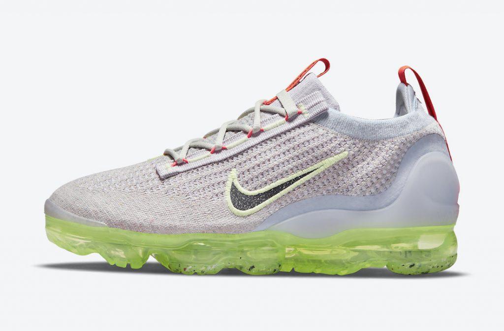 Nike Air VaporMax 2021 Grey Neon DC4112-003 Release Date Info