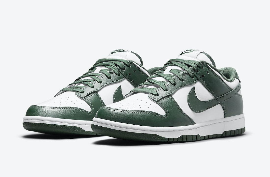 Nike Dunk Low Varsity Green DD1391-101 Release Date Info