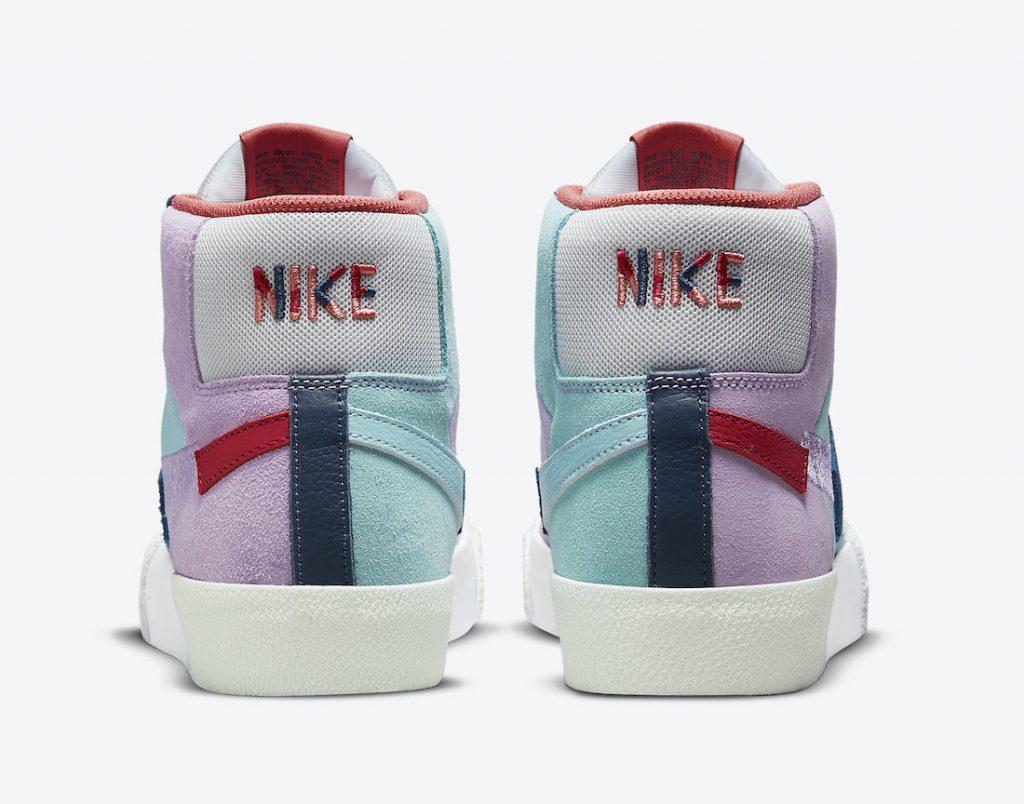 Nike SB Blazer Mid Mosaic Pack DA8854-500 Release Date