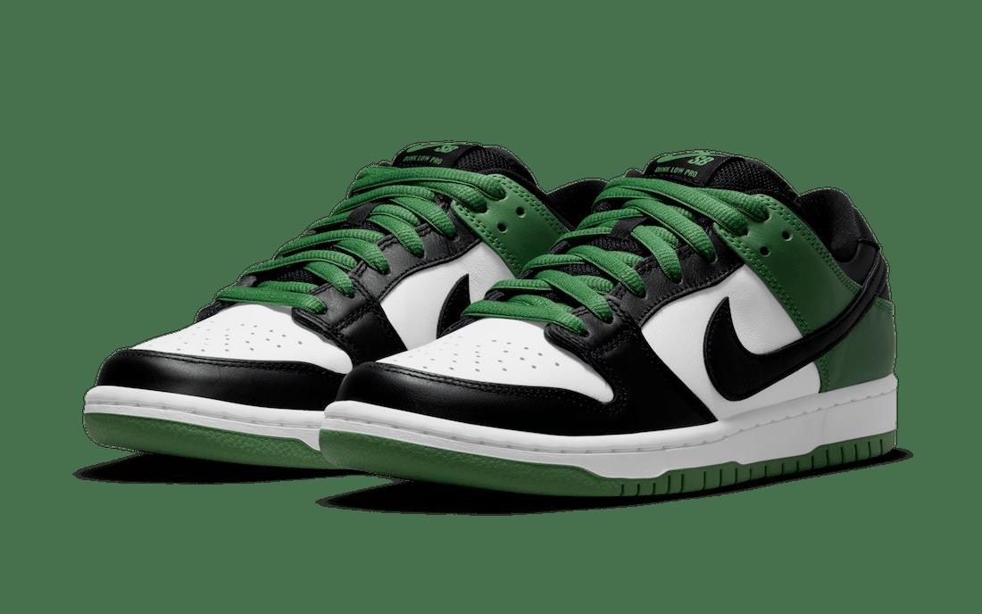 Nike SB Dunk Low Classic Green BQ6817-302 Release Date Info
