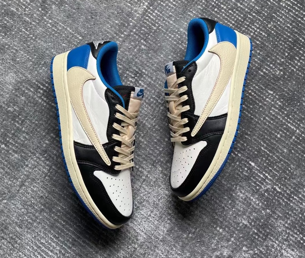Travis Scott Fragment Air Jordan 1 Low DM7866-140 Release Date Info
