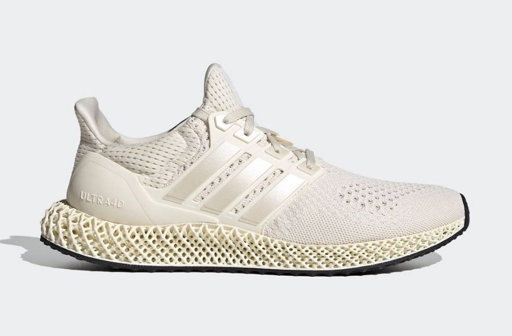 adidas Ultra 4D Core White FX4089 official release dates 2021