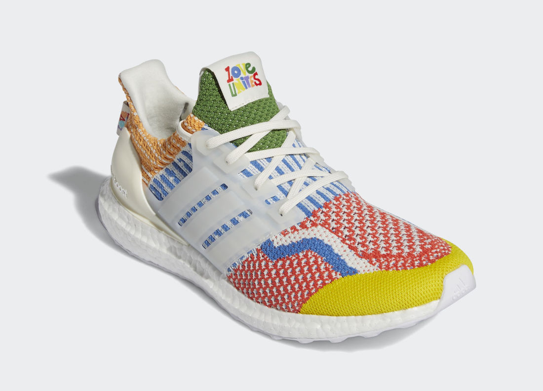 adidas Ultra Boost 5.0 DNA Pride GW5125 Release Date Info
