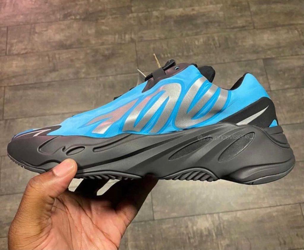 adidas Yeezy Boost 700 MNVN Bright Cyan Release Date Info