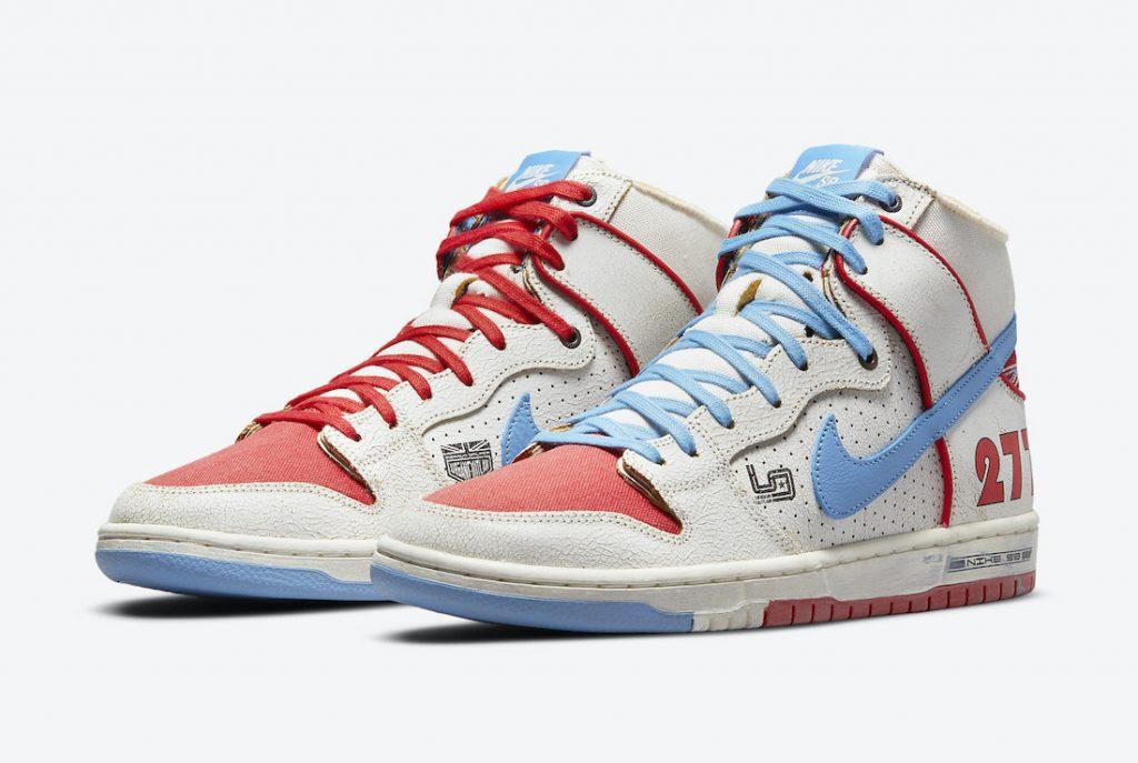 Ishod Wair Magnus Walker Nike SB Dunk High DH7683-100 Release Date Info
