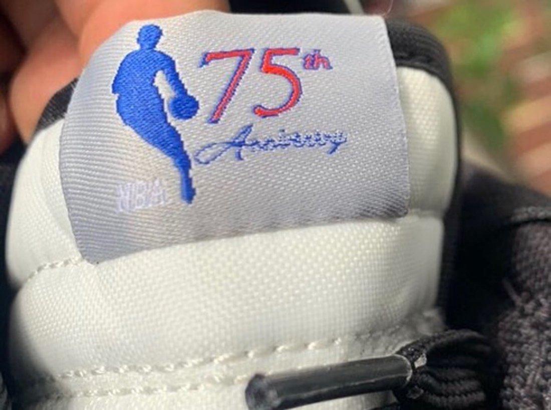 NBA Nike Dunk Low EMB 75th Anniversary DD3363-002 Release Date Info